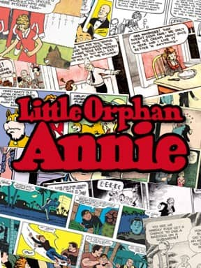 Little Orphan Annie comic cover