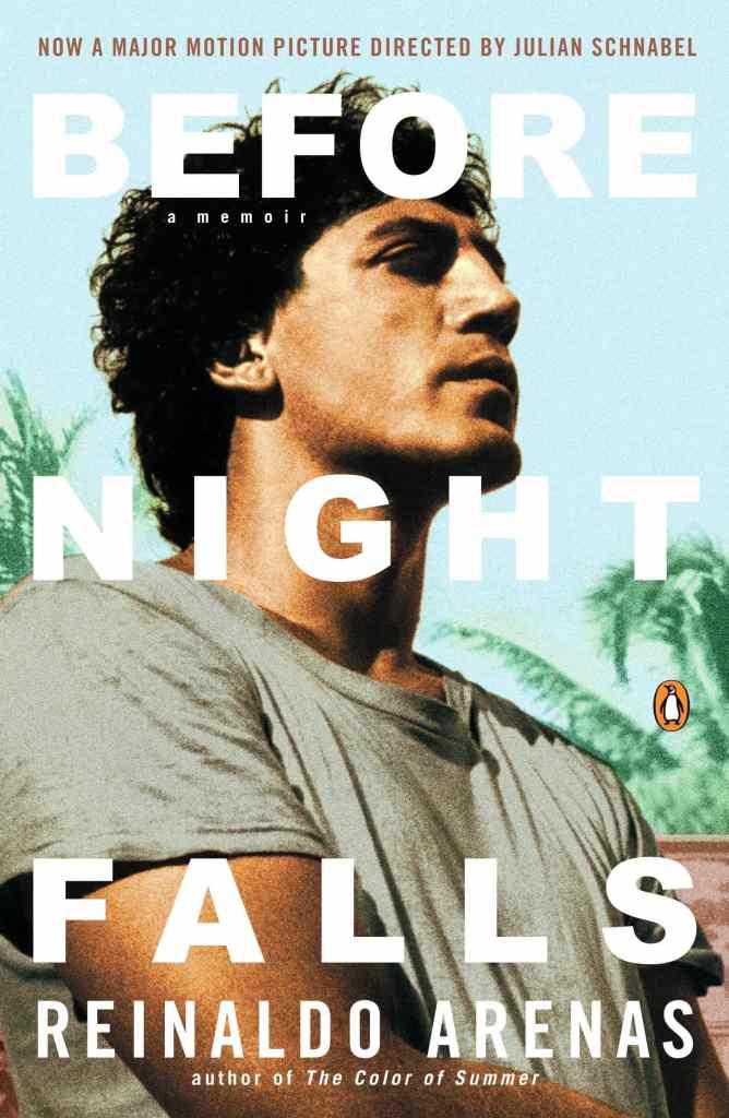 Before Night Falls by Reinaldo Arenas book cover