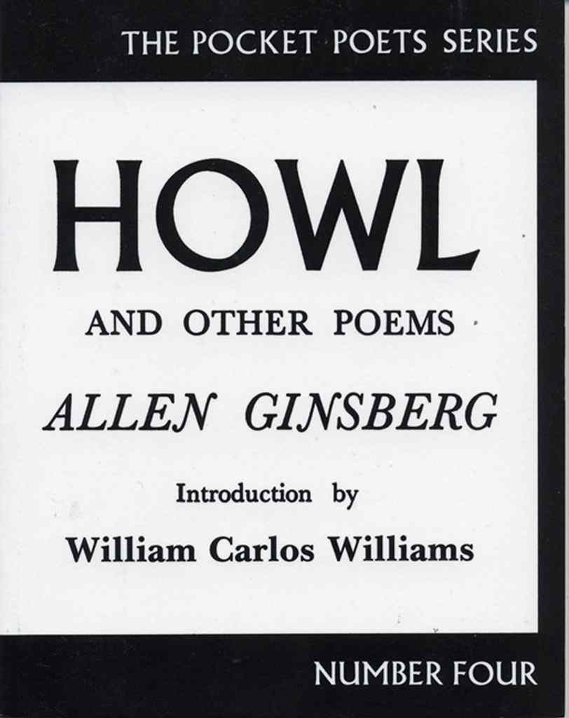 Howl and Other Poems by Allen Ginsberg book cover
