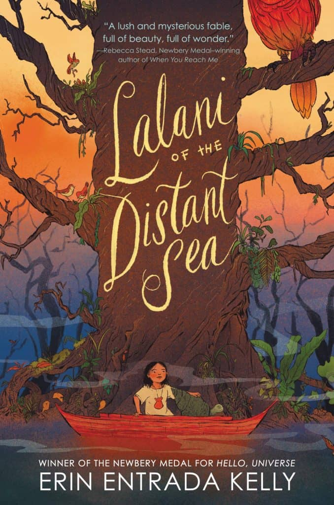 Lalani of the Distant Sea by Erin Entrada Kelly book cover