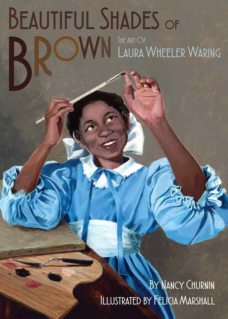 Beautiful Shades of Brown by Nancy Churnin, illustrated by Felicia Marshall