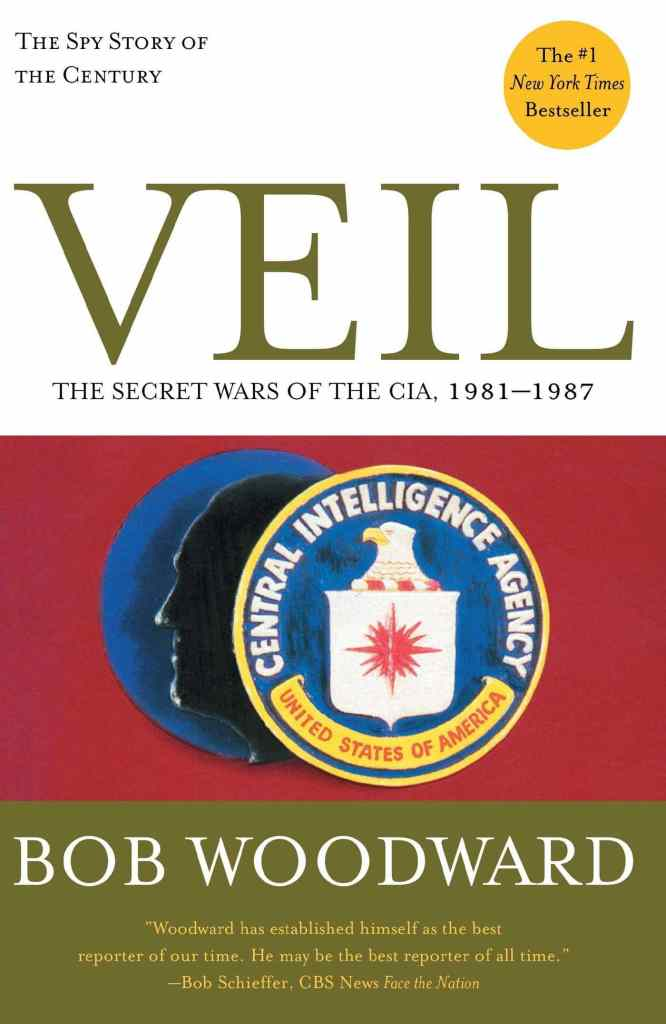Veil: The Secret Wars of the CIA 1981-1987 by Bob Woodward book cover