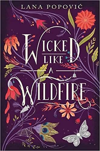 Wicked Like a Wildfire by Lana Popovic book cover