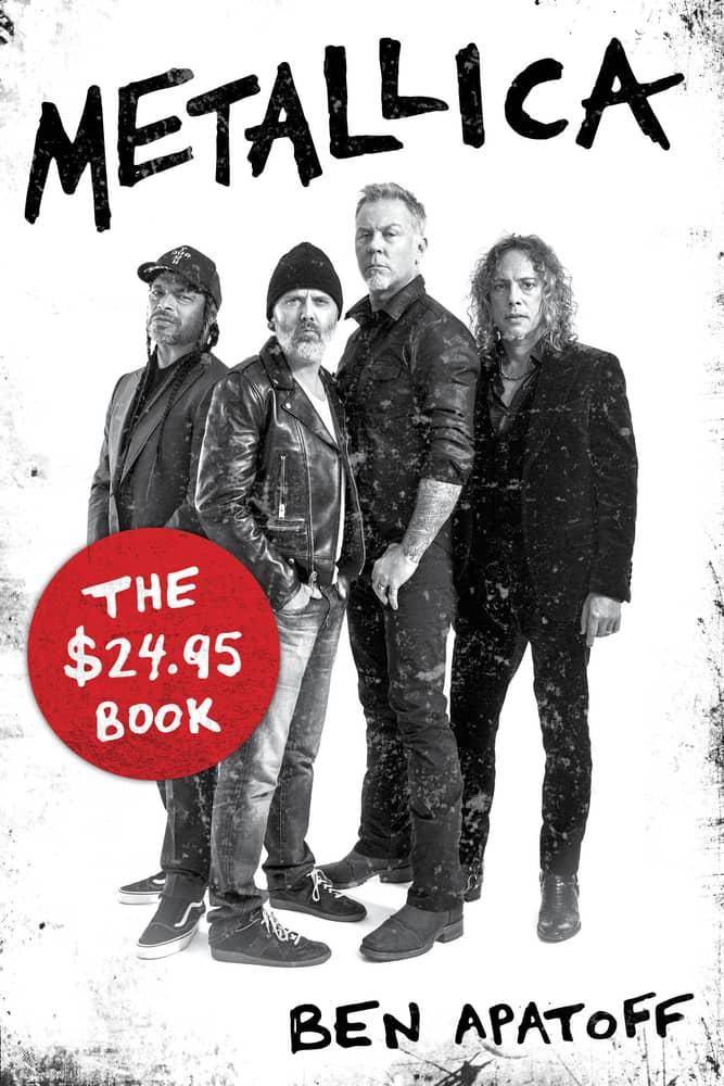 Metallica: The $24.95 Book by Ben Apatoff book cover