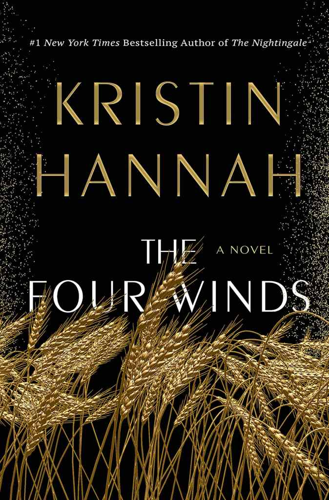 The Four Winds by Kristen Hannah book cover