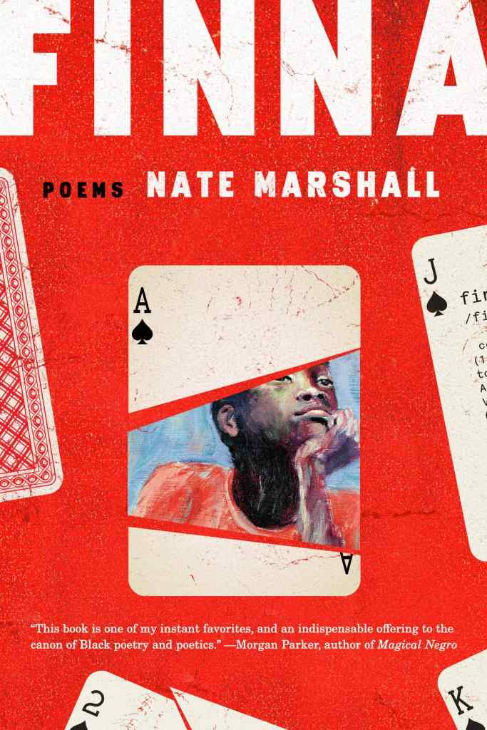 Finna by Nate Marshall book cover