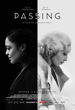 Passing film poster