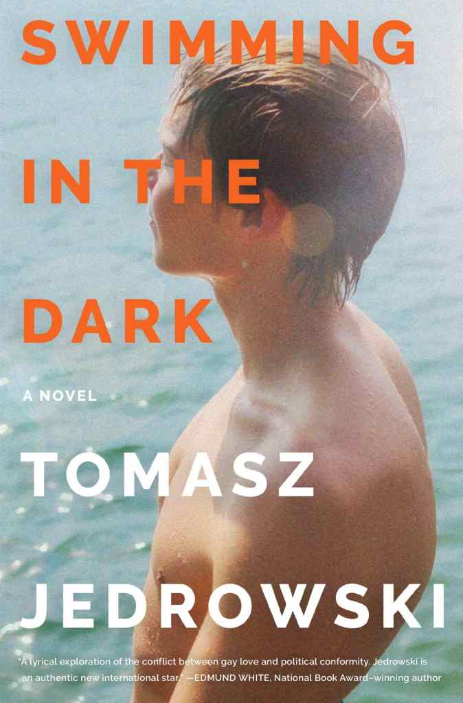 Swimming in the Dark by Tomasz Jedrowski book cover