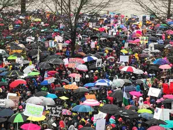 womens march portland