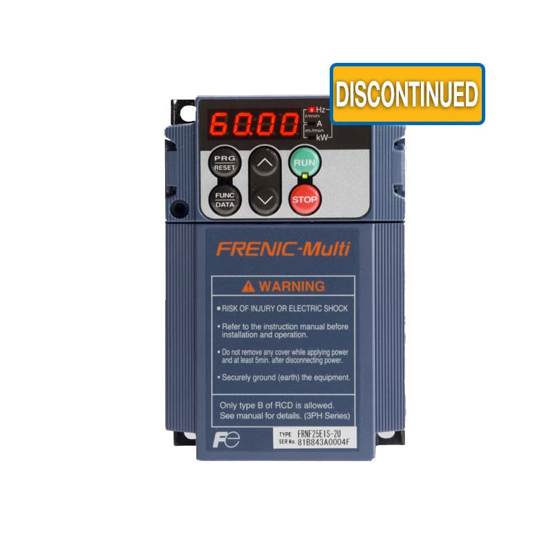 FRENIC-Multi - 1 to 3 Phase VFD - 3 Phase Variable Frequency Drive