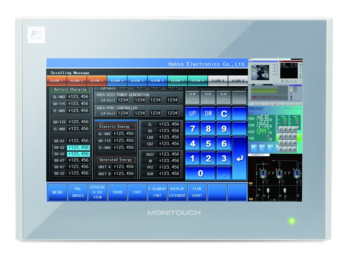 MONITOUCH HMI V9 Series