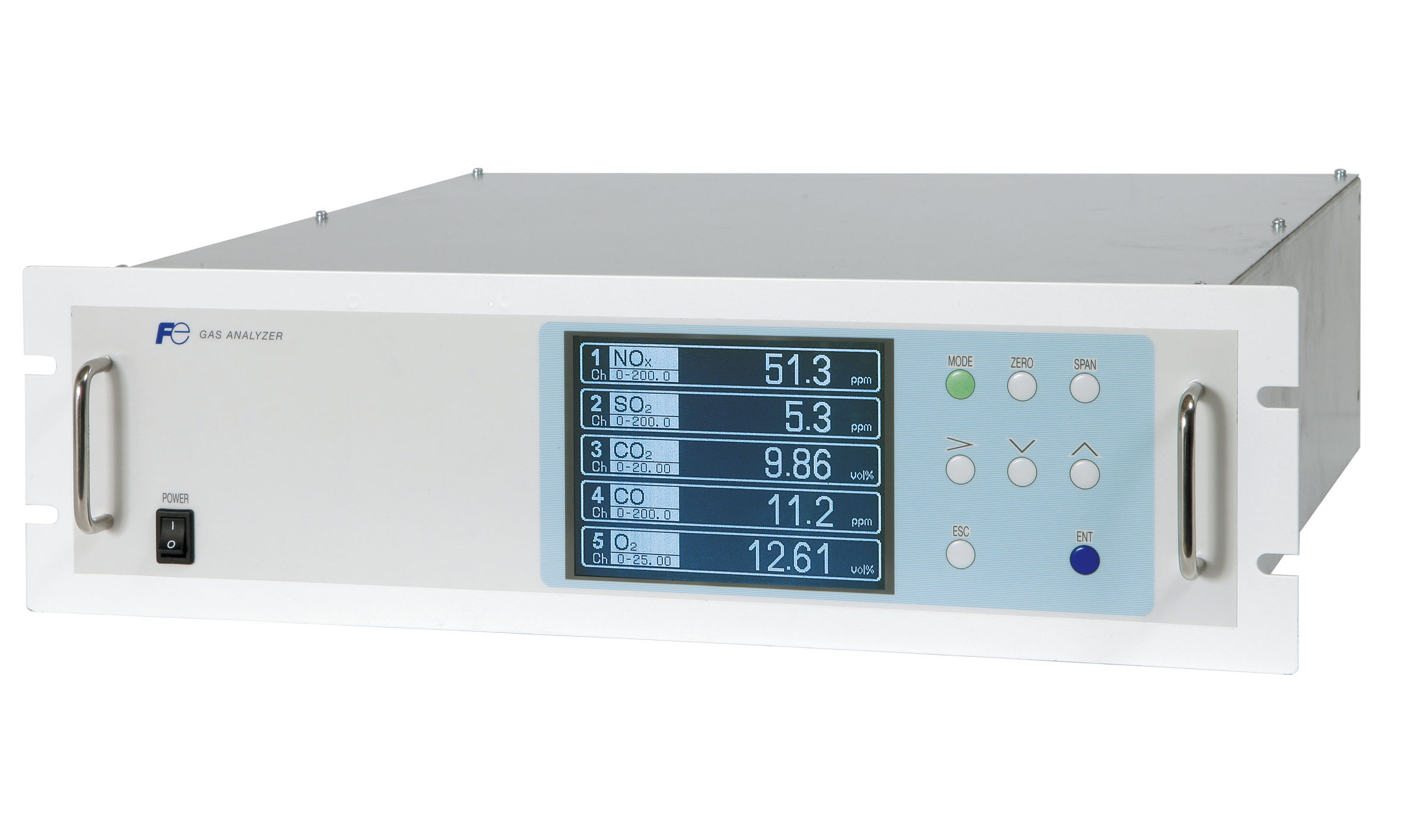 Continuous Emissions Monitoring Systems - CEMS Process Gas Analyzer