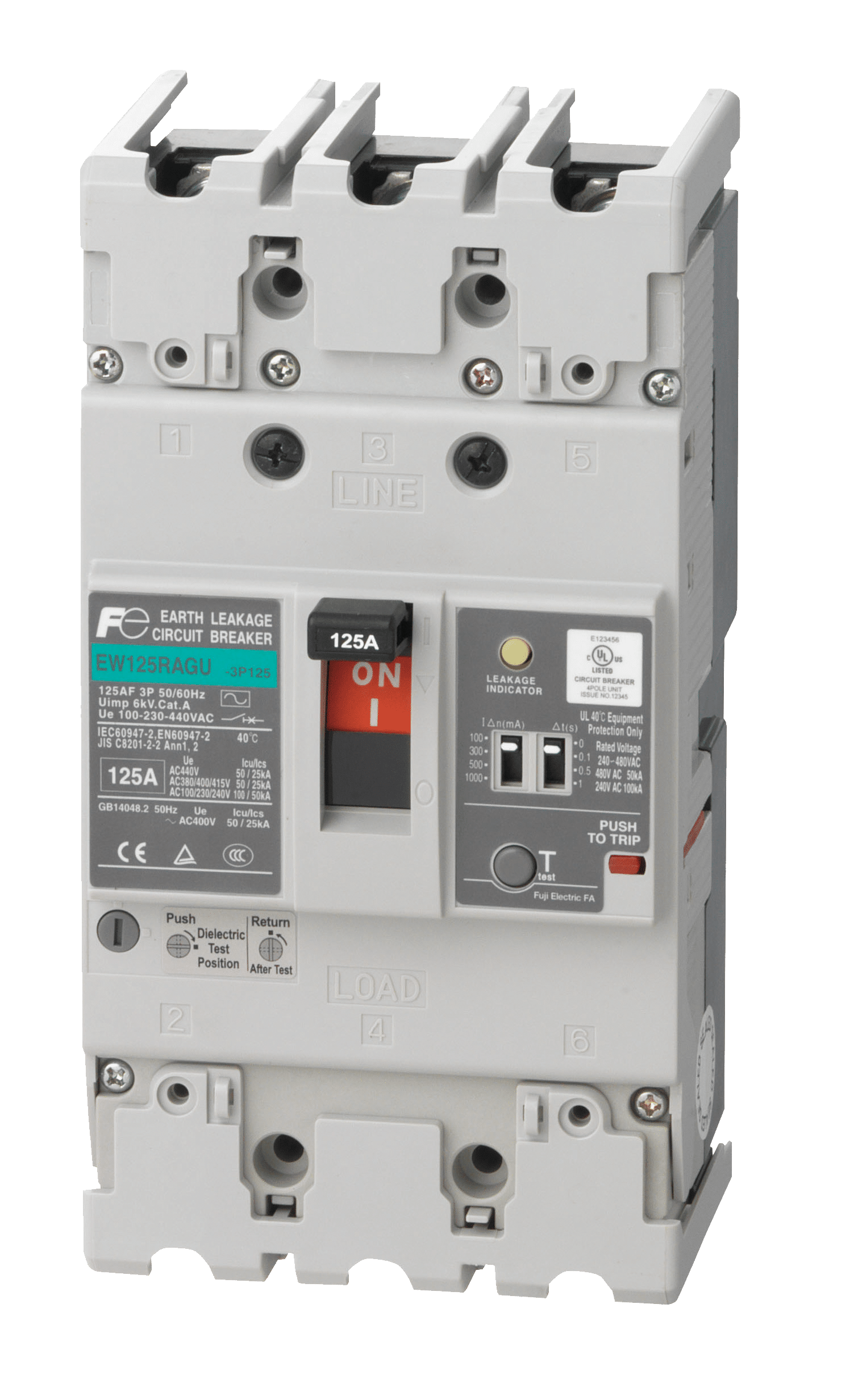 Earth Leakage Circuit Breaker Elcb Manufacturer Fuji Electric Dc Current Balance Relay Breakers