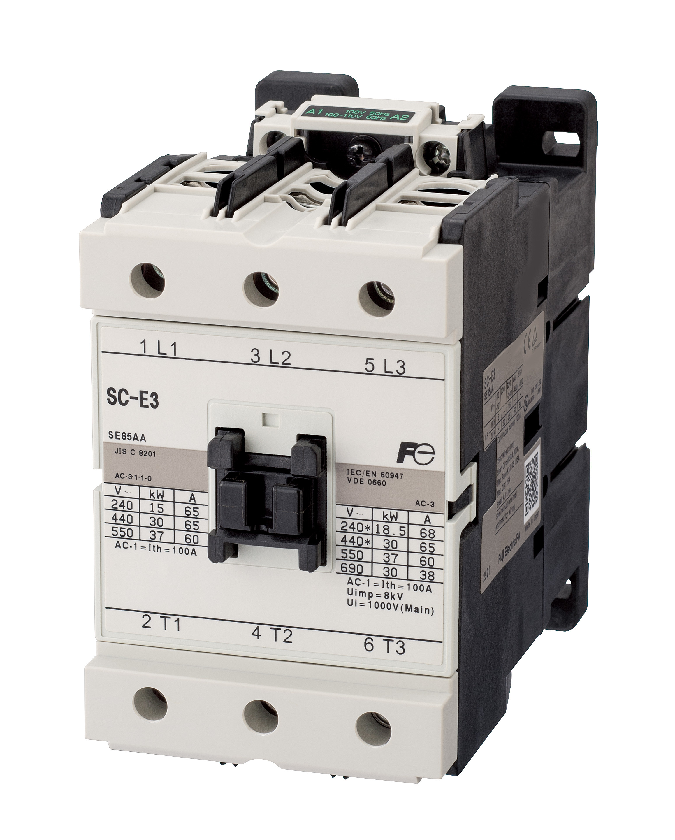 contactors & thermal overload relays
