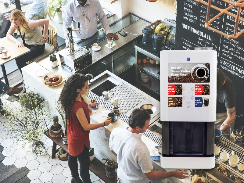 Bean-to-Cup Coffee Machine for Café/Restaurant/Food Service