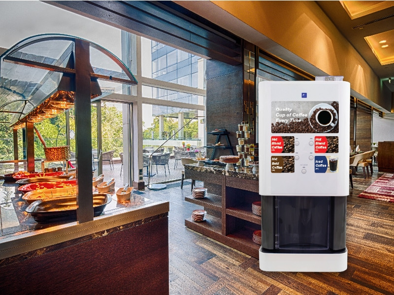 Bean-to-Cup Coffee Machine for Hotels/Hospitality applications