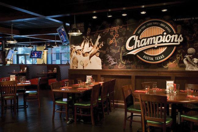 Champions Sports Bar  Restaurant  Austin TX  Austin