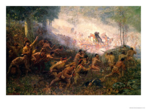 edwin-willard-deming-the-shooting-of-general-braddock-at-fort-duquesne-pittsburgh