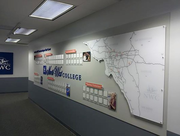 Graphics Office Wall Displays