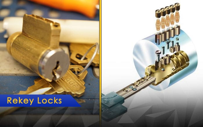 re-rekey locks