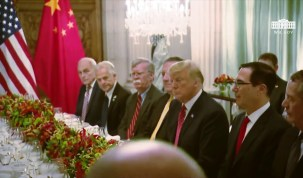 President Trump Working Dinner with the President of the People's Republic of China