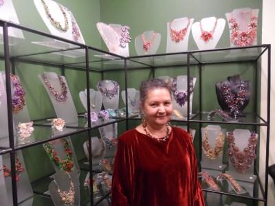 Zoya Gutina bead jewelry designer