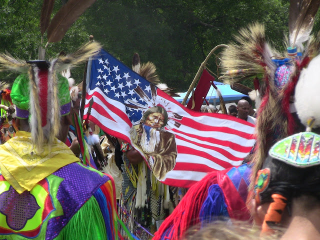 Native American pow wow, Bear Mountain, NY