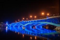 Burns Bridge Lighting Ceremony