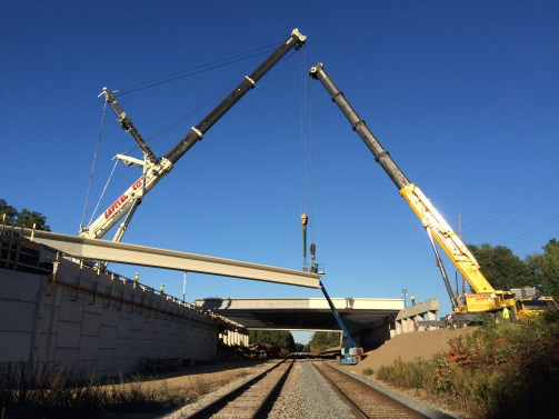 ATB20 setting beam perpendicular to RR