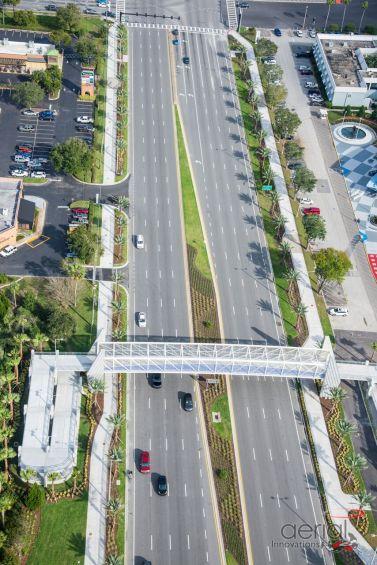 URBAN- Ped Bridge Aerial