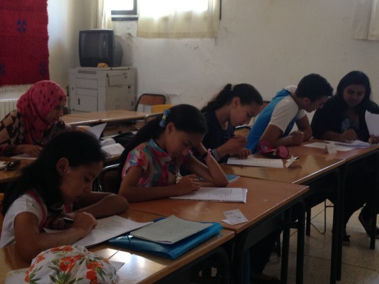 Class time at the Azrou Center