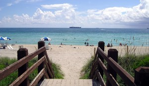 Der Miami Beach in Miami Florida