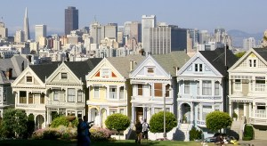 Die Painted Ladies in Frisco