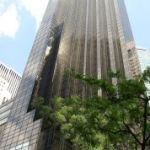 an der 5th Avenue liegt der Trum Tower den Milliardärs Donald Trump