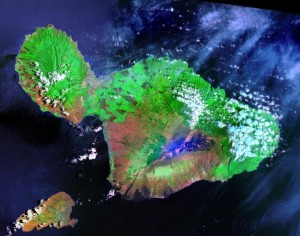 Maui.Satellit