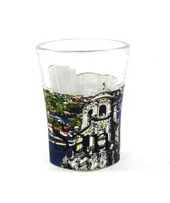 San Diego Color Shot Glass