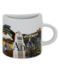 Los Angeles Mug Magnet