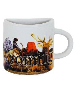 Wyoming Mug Magnet