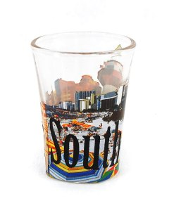 South Carolina Shot Glass