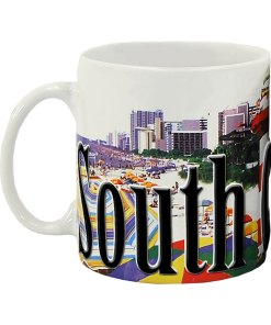 South Carolina Color Relief Mug