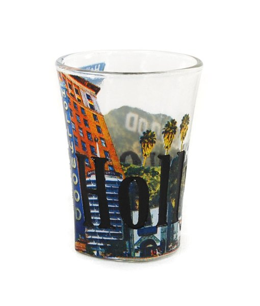 Hollywood Color Shot Glass