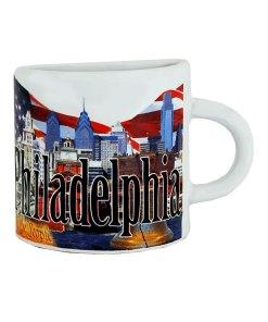 Philadelphia Mug Magnet