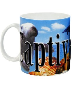 Captiva Island Color Relief Mug