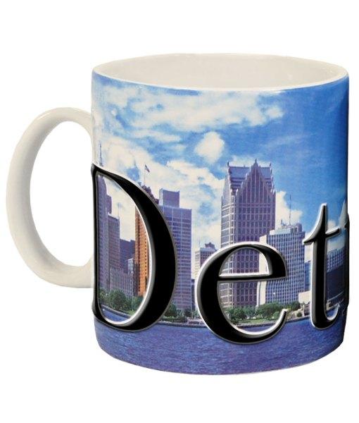 Detroit Color Relief Mug