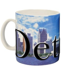 Detroit Color Relief Mug