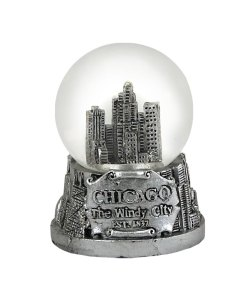 Chicago 45mm Snow Globe