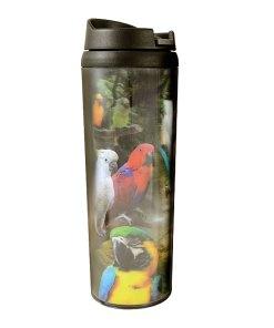 Exotic Birds Lenticular Tumbler