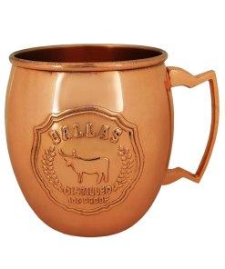 Dallas Copper Mule Mug