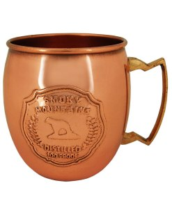 Smoky Mountain Copper Mule Mug