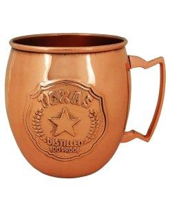 Texas Copper Mule Mug